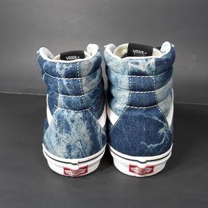 Vans Shoes - Vans Sk8 Denim Acid Wash Sz 8.5